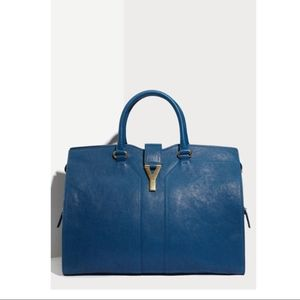 Yves Saint Laurent Bags - Yves Saint Laurent Cabas ChYc Large Classic Blue 75aa8e7356ee4